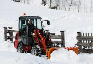 bema schneeschild im Einsatz