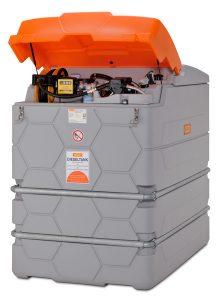 cemo Cube Dieseltank 2500l Outdoor Premium